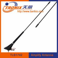 Wholesale car electronic antenna with cable length 5.2m/ black color car amplifier antenna/ car am fm antenna TLB1742 from china suppliers