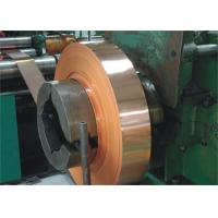 Wholesale Shield Copper Foil For Rf Cable , Leaky Feeder Cable Copper Strip Test from china suppliers