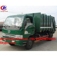 Wholesale Factory sale good price FAW brand 4*2 LHD 5m3 garbage compactor truck, HOT SALE! lower price wastes collecting vehicle from china suppliers