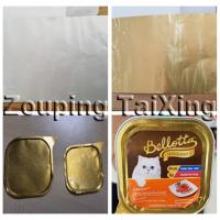 Wholesale heat seal aluminium foil for pet food trays from china suppliers