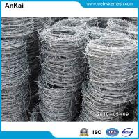 Wholesale Barbed Wire, Galvanized Wire, Razor Wire, Twisted Wire, Concertina Razor Wire, Fencing Wire, Fence Wire, Steel Fence from china suppliers