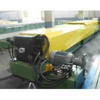 Wholesale Rain Gutter Gutter Rolling Machine / Welded Pipe Roll Forming Machine from china suppliers