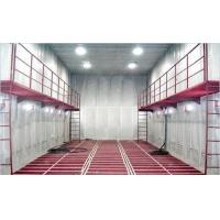 Wholesale Manual Sand Blasting Room / Booth Heavy Duty With Screw Recycling System from china suppliers