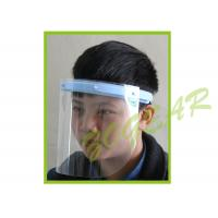 Buy cheap Anti Fog Transparent Face Shield , Optically Clear Dust Mask no Distortion from Wholesalers