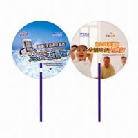 Wholesale Hand Fans for Promotional Purposes, Customer's Logos Printings are Available, Made of PP from china suppliers