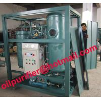China Reliable Performance Vacuum Filter Unit, Turbine Oil Purifier Plant, Oil Ceaning System on sale