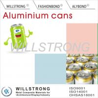 Buy cheap Acid Or Alkali Proof Color Coated Aluminum Coil For Beer Cans / Aluminium Colour Coated Sheet from wholesalers