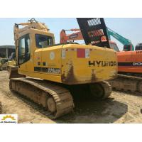 China Original Color 2012 Year Used Excavator Machine Hyundai R225-7 Crawler Type on sale