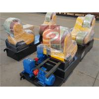 Buy cheap Self Aligning Rotators / Welding Turning Rolls 20 Ton , PU Rollers , France Schneider Inverter from wholesalers