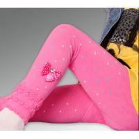 Wholesale Polka Dot Childrens Footless Tights With Elastic Velvet Thick from china suppliers