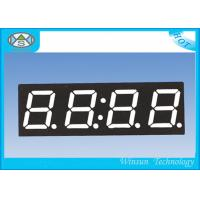 Buy cheap High Brightness 4 Digit Seven Segment Display / 0.4 Inch Electronic Number Display Red Color from wholesalers