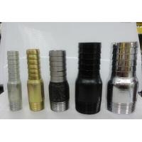 Wholesale Blackand gold colour  iron king nipple,barrel nipple from china suppliers