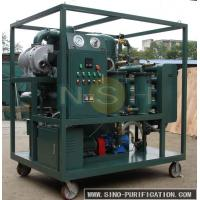 Wholesale Touch Screen Vacuum Oil Purifier Fully Automatic Insulating For High Voltage Transformer from china suppliers