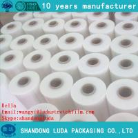 Wholesale Manufacturer LLDPE Clear Jumbo Roll Stretch Film pre stretch 280% from china suppliers