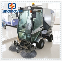 Wholesale Gas Brush 550L 25HP Road Sweeper Machine For Street from china suppliers