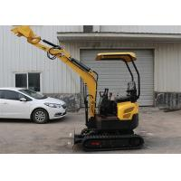 Wholesale Ce 1.7T Mini Crawler Digger Excavator Farm Garden Machine no-tail Yanmar 370 13.5HP from china suppliers