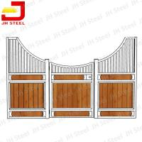 Wholesale Durable Easy To Stall Steel Horse Stables Durable Wood Materials from china suppliers