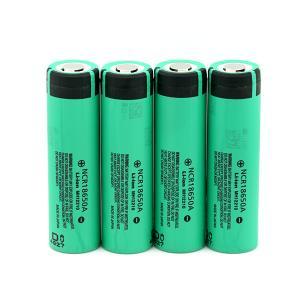Panasonic 18650  high capacity rechargeable cells 3.7v 3100 mAh for e-cigar power bank electric bike batteries