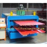 China Automatic Color Steel Cold Roll Forming Machine Sheet Metal Rolling Former for South Africa Customer on sale