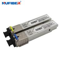Wholesale SC Connector 1.25G SFP Transceiver 1310nm 1550nm SFP Optical Module from china suppliers