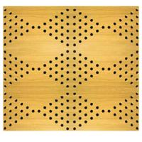 China Veneer Surface Solid Perforated Wood Acoustic Panels Classroom Wood Wall Paneling Sheets on sale