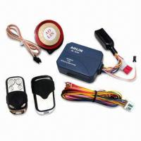 China Water-resistant One-way Motorcycle Alarm System with Code Learning and Mute Functions on sale