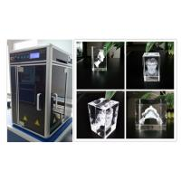 Wholesale 800W 3D Glass Crystal Laser Engraving Machine , Sub Surface Engraving Equipment from china suppliers