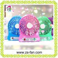 Wholesale Cheap 5v Usb Table Rechargeable Mini Fan with Led Lights from china suppliers