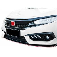 Durable ABS Type-R Auto Front Grille for Honda New Civic 2016 2018