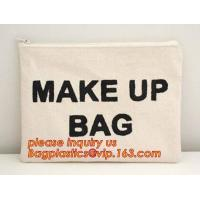 Wholesale eco friendly wall hanging bags cotton linen sundries basket jute cosmetic bag for women,soft organic cotton cosmetic bag from china suppliers