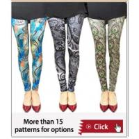Wholesale South africa hot sale summer printed pantyhose ,famous artist's legging,OEM tight pants from china suppliers