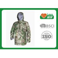 Buy cheap Police Working Water Resistant Jacket , Warm Rain Jacket With Hood from Wholesalers