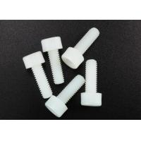 Buy cheap White Nylon Hexagon Socket Head Cap Screw M3 X 8mm Flat Point DIN 912 Standard from Wholesalers