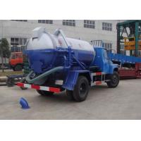 Quality 5980*1980*2680m Septic Pump Truck / Vac truck / sewer vacuum truck XZJ5060GXW for drainage and suction for sale