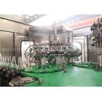 Wholesale Automatic Carbonated Water Bottling Plant For Sparkling Wine / Whiskey / Vodka from china suppliers