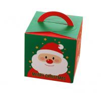 Wholesale Lovely Christmas Paper Gift Boxes / Xmas Food Packaging Box Custom Logo from china suppliers