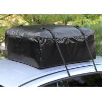 Car Organizer Canvas Roof Rack Bag, Roof Top Cargo Bag For Car Without Roof Rack
