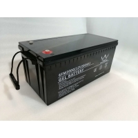 Wholesale AGM GEL 6FM220G 10HRS Solar Lead Acid Battery 12V 200Ah from china suppliers