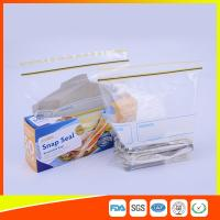 Wholesale Airtight Transparent Ziplock Snack Bags For Food Packing Customized Size from china suppliers