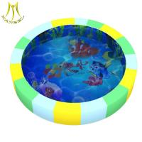 China Hansel Shopping mall for baby plastic soft toy attraction children water bed on sale