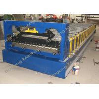 China Metal Roofing Sheet Corrugated Roofing Sheet Roll Forming Machine on sale
