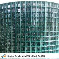 Wholesale PVC Coated Welded Wire Mesh|Green Color With 1/4 inch by Carbon Steel Wire from china suppliers