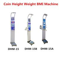 Coin Operated Body Weight Height Scale , Professional Medical Grade Weight Scale