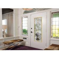 Buy cheap Original Artwork Architectural Decorative Stained Glass Door Panels Nouveau Art from wholesalers