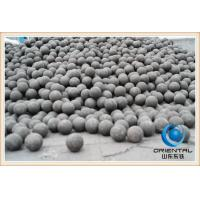 Quality Low Breakage Rate cast steel iron grinding ball Low wear resistant grinding for sale