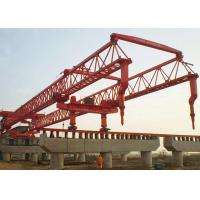Wholesale Bridge Girder Install Beam Launcher Crane Trussed Type For Light Rail Transit Project from china suppliers