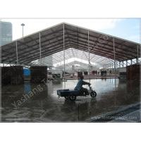 China 40x100 M Large Hard Extruded Aluminium Frame Tents Exhibition Marquee Canopy on sale
