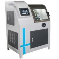 China Double Cutting Wheel Automatic Specimen Cutting Machine with Water Cooling on sale