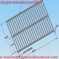 Hot Dipped Galvanized steel driveway grates grating