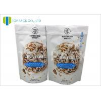Buy cheap Barrier Zipper Stand Up Pouch PET / AL / PE Cookies Packaging Customzied size from Wholesalers